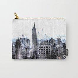 Manhattan Art Carry-All Pouch