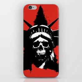 Statue of Liberty Skull iPhone Skin
