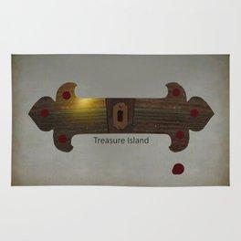 Treasure Island Minimal Poster Rug