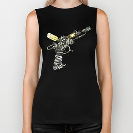 Raygun this is not a pipe Biker Tank