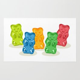 Gummy Bears Gang Rug