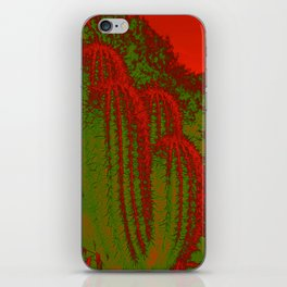 Cacti Abstract I iPhone Skin
