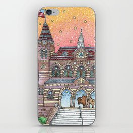 Chapel Hall Gallaudet University iPhone Skin