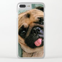 Hi There Clear iPhone Case