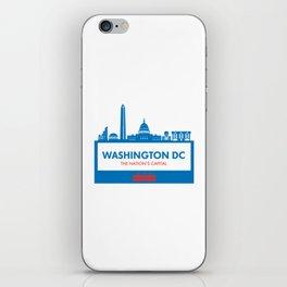 Washington DC Illustration iPhone Skin