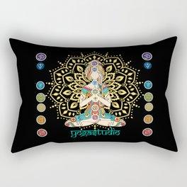 Yoga Studio Rectangular Pillow