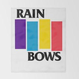 Rainbows Throw Blanket