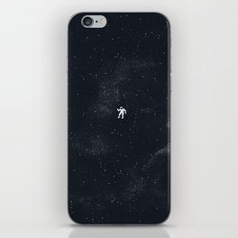 Gravity - Dark Blue iPhone Skin