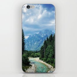 Wood as a chance of existence iPhone Skin
