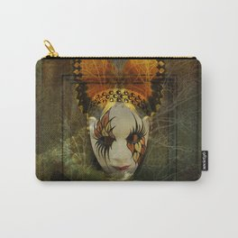 Surrealistic Venetian Mask Carry-All Pouch