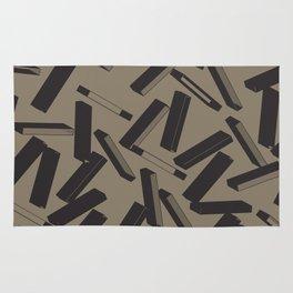 3D X Pattern Rug