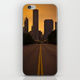 Chicago Sunset iPhone Skin