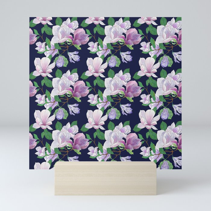 Magnolia Floral Frenzy Mini Art Print