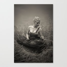 Young Marilyn Monroe Canvas Print