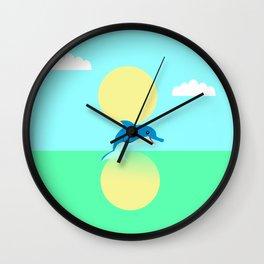 Dolphin - minimal Wall Clock