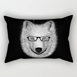 WHITE SPECTACLE Rectangular Pillow