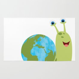Save the Planet - It's on your shoulder Rug