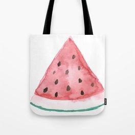 Big Watermelon // Watercolor Tote Bag