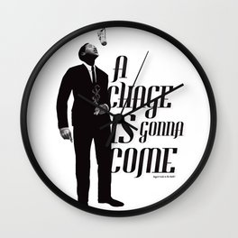 Sam Cooke Wall Clock