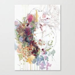 take care of your garden Canvas Print