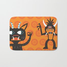3 Eye Monster Bath Mat