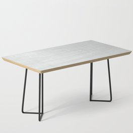 Gray Weathered Wood Coffee Table