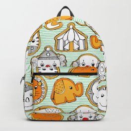 circus cookies Backpack