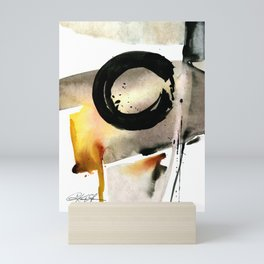 Enso Abstraction No. 105 by Kathy morton Stanion Mini Art Print