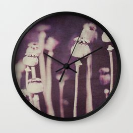 What you seek is seeking you ~ Rumi Wall Clock