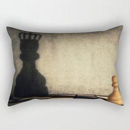 pawn glorification Rectangular Pillow