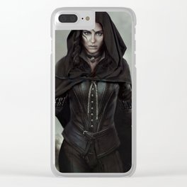 The Witcher 3 Clear iPhone Case