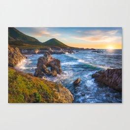 Soberanes Point Sunset, Big Sur Canvas Print