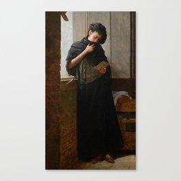 Longing - Saudade-  by Almeida Junior, 1899 Canvas Print