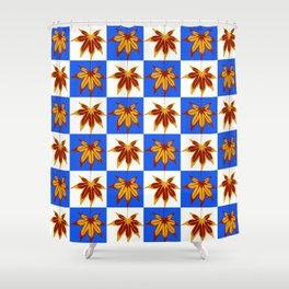 Patchwork Autumn Shower Curtain