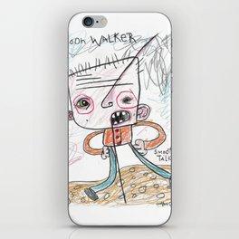Moon Walker Smooth Talker iPhone Skin