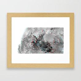 Chrysocolla (series) - 14 Framed Art Print