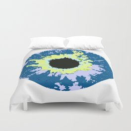 COLOR CONTACTS ELECTRIC Duvet Cover