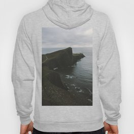 Neist Point Lighthouse at the Atlantic Ocean - Landscape Photography Hoody
