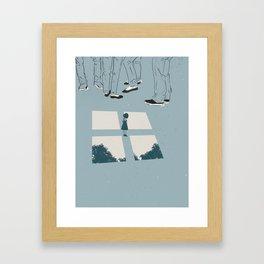 Baggage Framed Art Print