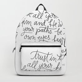 Straight Paths Backpack
