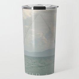 Silver Ocean Travel Mug