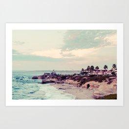 San Diego Beach Fine Art Print Art Print