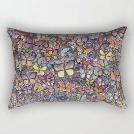 butterfly cascade Rectangular Pillow