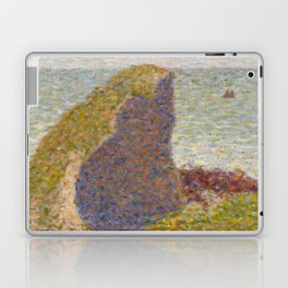 Study for Le Bec du Hoc, Grandcamp Laptop & iPad Skin