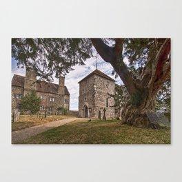 St Mary Sullington Canvas Print