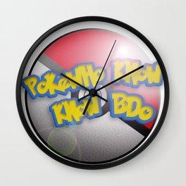 Pokewho Know Know BDO Wall Clock
