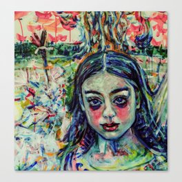Tosca, Rainbow Child Canvas Print