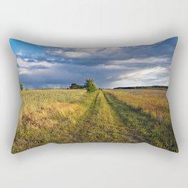 BLUE CLOUD DRAMA Rectangular Pillow