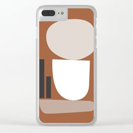 Shape study #11 - Stackable Collection Clear iPhone Case