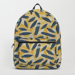 Guinea Fowl Feathers Backpack